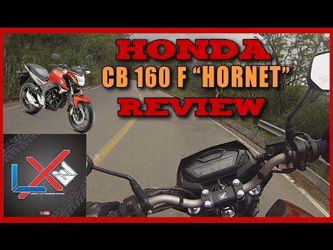 Honda CB 160 F HORNET Review en español