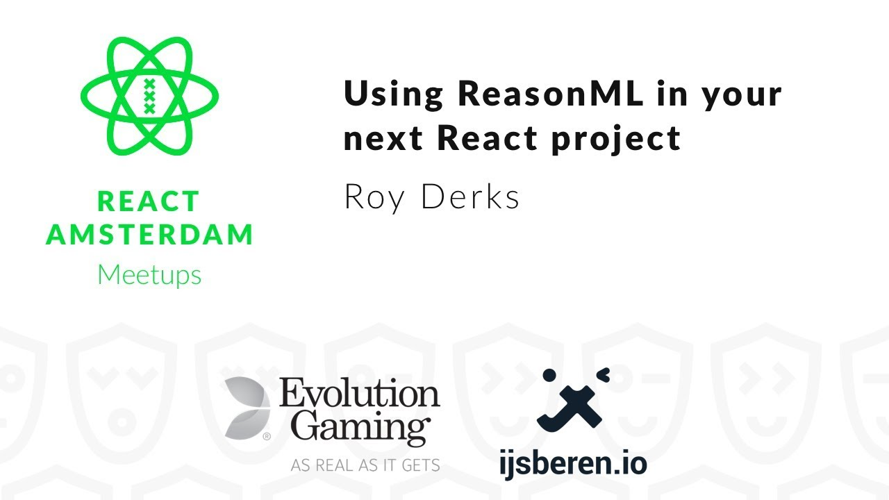 Using ReasonML in your next React project – Roy Derks