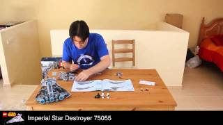 Imperial Star Destroyer - Lego Star Wars 75055 - Time Lapse