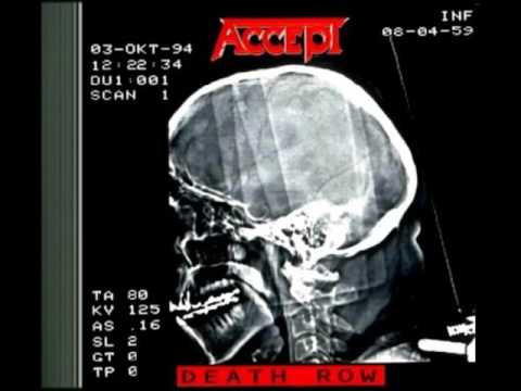 Accept (1994) Death Row *Full Album*