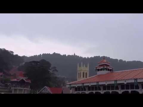 Shimla mall road - Ridge View