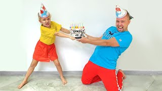 Alicia y papá olvidaron el cumpleaños de Eva