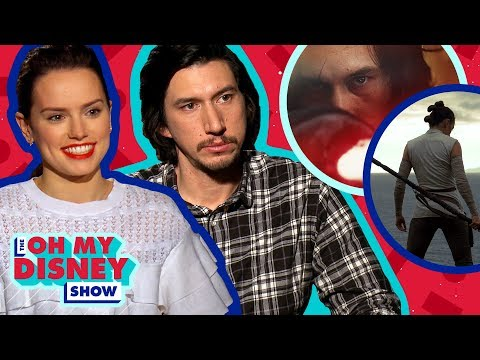 Download Youtube: Daisy Ridley and Adam Driver Talk About Working Together on Star Wars: The Last Jedi