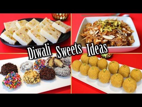 Diwali Sweets Recipes | Diwali Sweets Ideas | Easy Diwali Sweets | How To Make Diwali Sweets