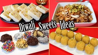 Diwali Sweets Recipes | Diwali Sweets Ideas | Easy Diwali Sweets | How to Make Diwali Sweets