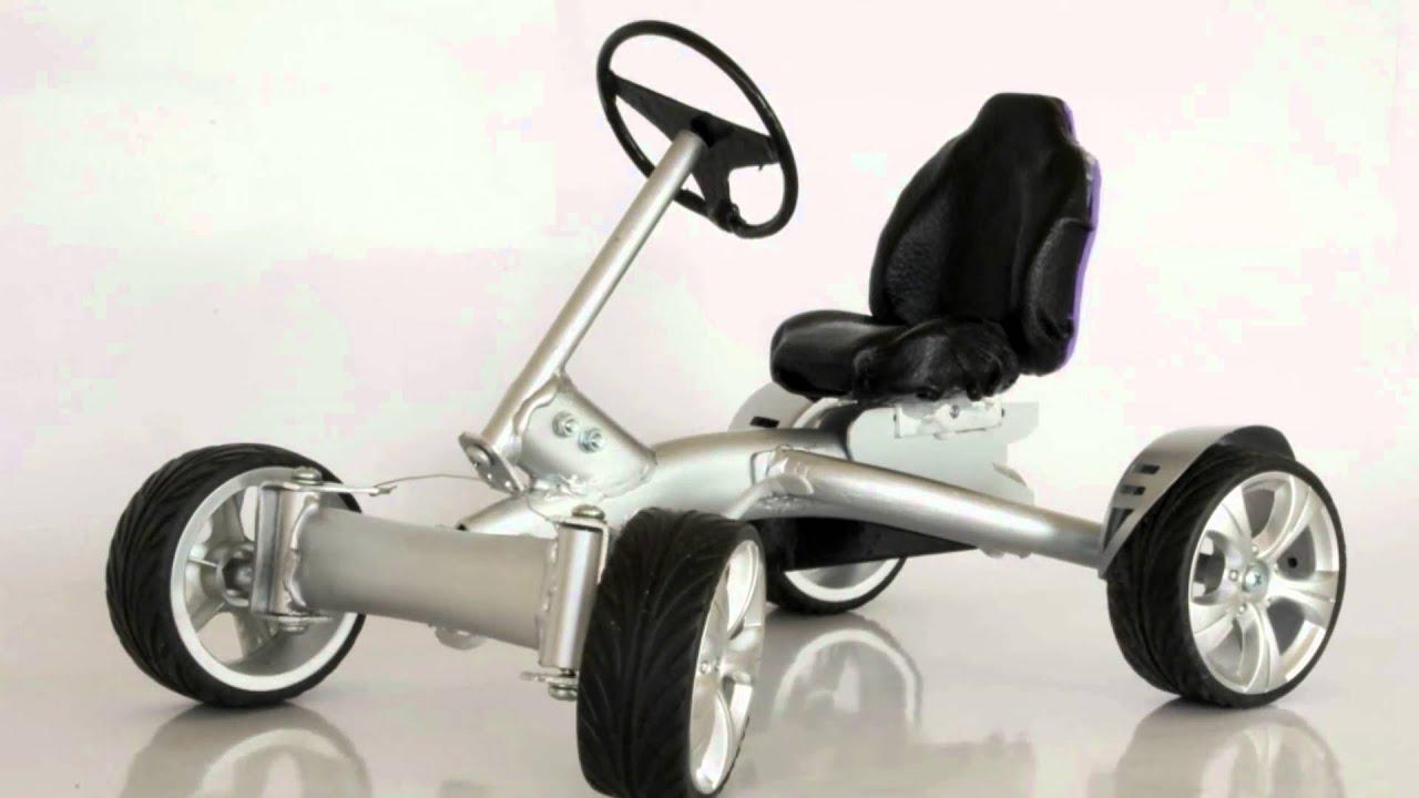 pedal go kart concept youtube. Black Bedroom Furniture Sets. Home Design Ideas