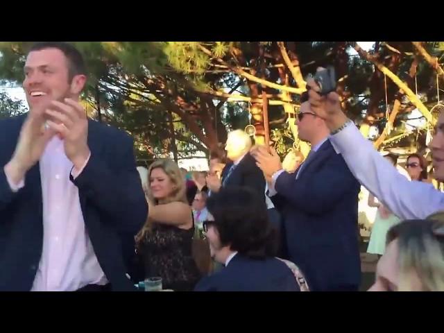 Ouverture de bal magique au mariage d'un illusionniste en 2015