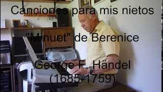 Minuet de Berenice, Handel