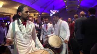 Best Indian bride groom wedding entrance Highland Band Baja