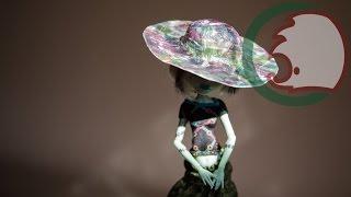 Как сделать шляпу для кукол. How to make a sun hat for dolls.