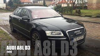 Audi A8 -  Limuzyna warta Pół Miliona za ułamek ceny (Long, Telewizory, Masaż)