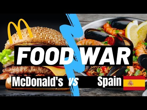 Why McDonald's sucks in Spain