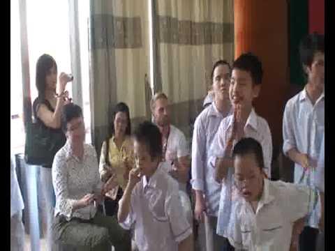 Ronan Keating in Vietnam