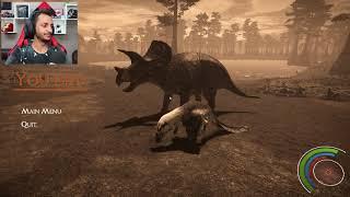 حياة الديناصورات #11 | الحين صارت اللعبه حلوه!! Saurian