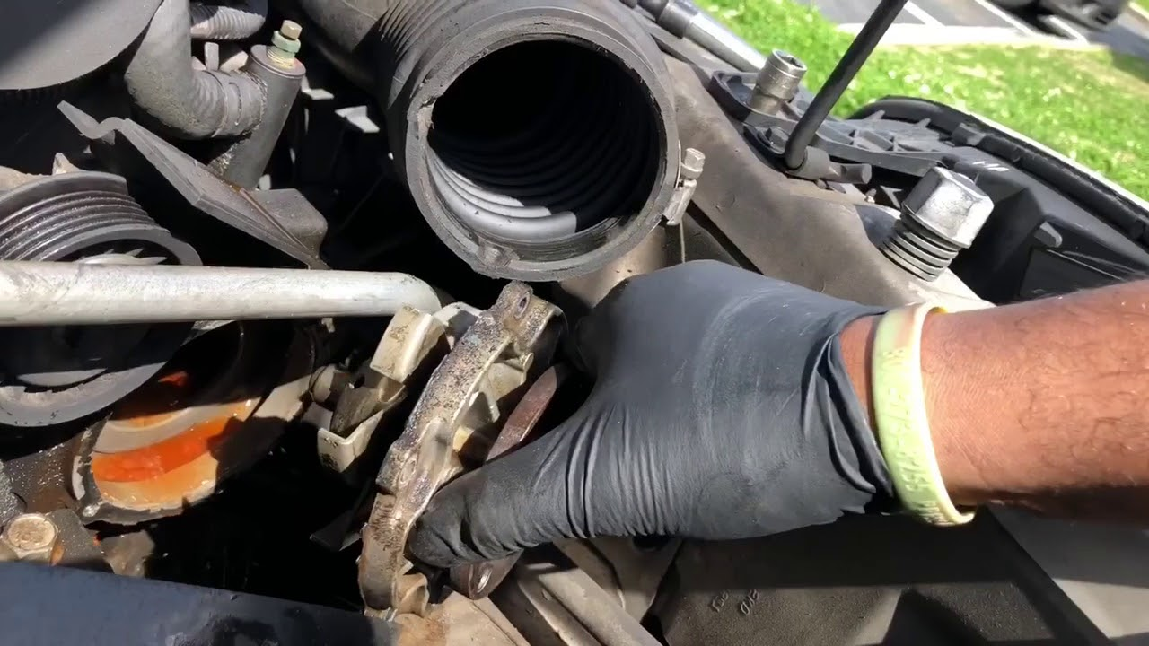 maxresdefault replacing the water pump on a 2006 chevy malibu v6 youtube