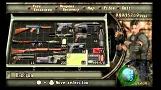 Resident Evil 4 Wii Edition - Silenced Handgun Fun