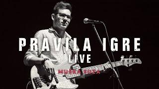 Смотреть клип Pravila Igre - Muška Suza Live