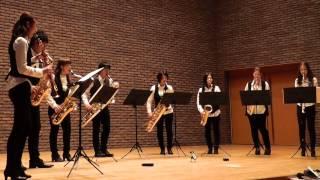 関西で活動しているメビウスサクソフォンアンサンブルの演奏。 2013年に...