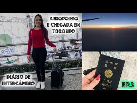 DIARIO DE INTERCAMBIO: AEROPORTO, CHEGADA EM TORONTO, IMIGRAÇÃO... - Harumy Nakanishi