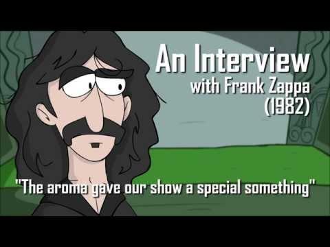 Frank Zappa at the Garrick Theatre (Radio.com Minimation)