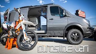 OSV SHADOW CRUISER | 4x4 144 2500 Low Roof Mercedes Sprinter(Those with the most toys; usually is super stoked! Please welcome our latest custom hand-crafted OSV van conversion, Shadow Cruiser. This tight low roof ..., 2016-06-09T17:52:02.000Z)