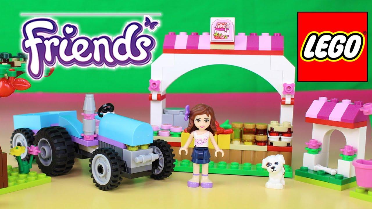 lego friends farm instructions