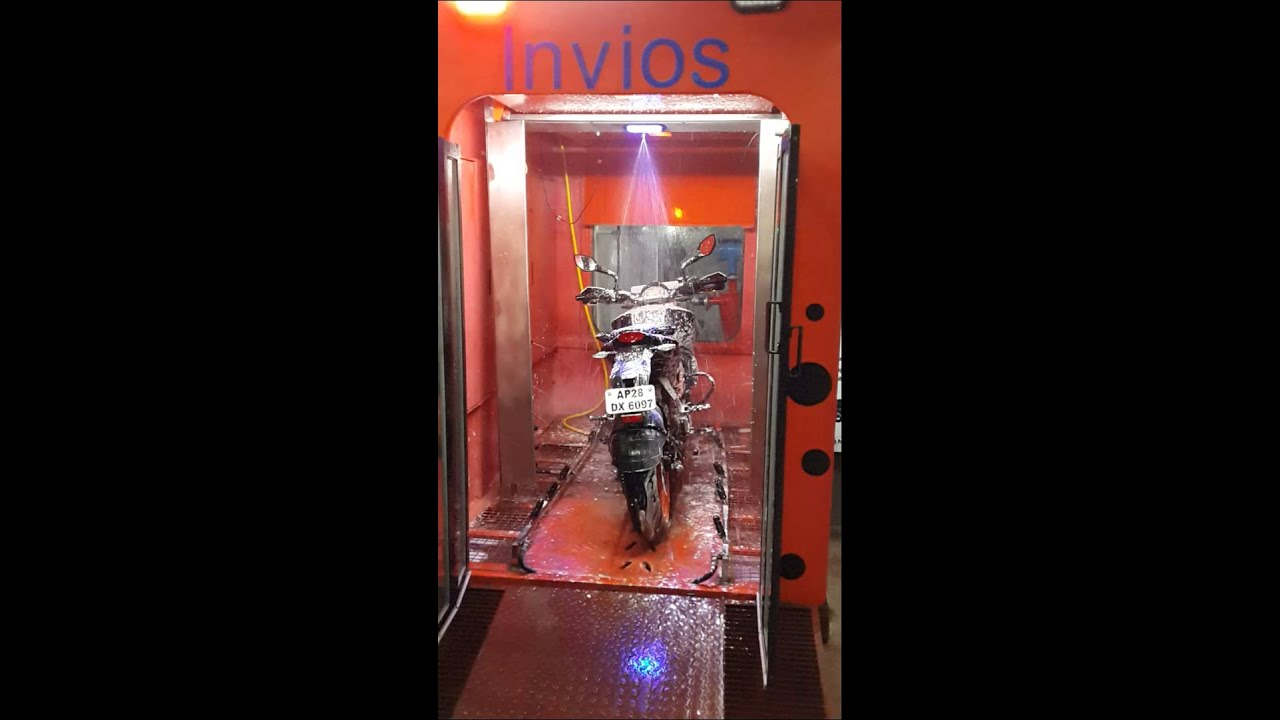 Youtube Automated Cms By Teedeskdev: Automated Bike Wash At Invios, Hyderabad