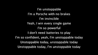 Sia Unstoppable Lyrics