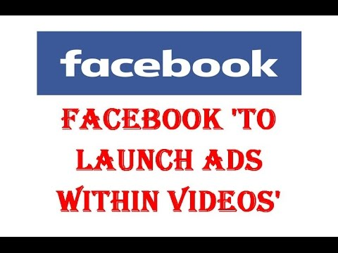 Online News Facebook Announced Advertise Revenue Share on Facebook Videos with Publishers