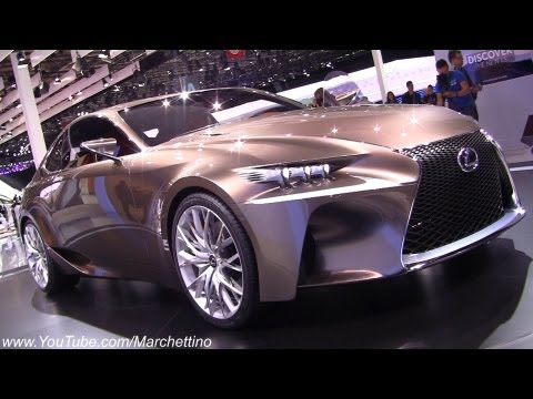 Lexus LF-CC Concept - 2012 Paris Motor Show