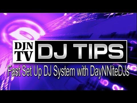 Fast Turnover Quick DJ Set Up With John From DayNNiteDJs On DJNTV December 2018 DJ Tips Contest