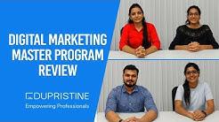 Our Students Speak – Digital Marketing Master Program Review   EduPristine
