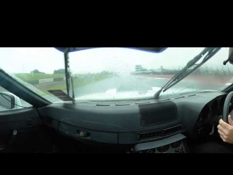 Steve Crane on Trackday at Mallory in Porsche 924