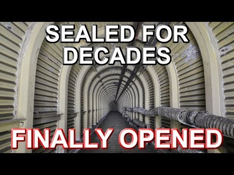Huge War Bunker FINALLY OPENED After Decades of Being Sealed - H.M.S Wildfire