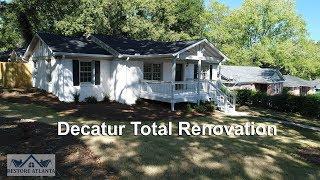 Decatur Georgia Renovation