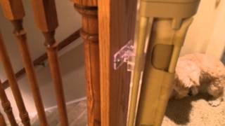 Easy Upstairs Installation With A Baby Gate