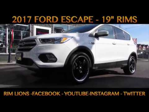 2017 ford escape with 19 inch custom rims tires youtube 2017 ford escape with 19 inch custom rims tires publicscrutiny Image collections