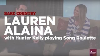 Lauren Alaina playing Song Roulette | Rare Country