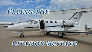 flying cessna citation mustang