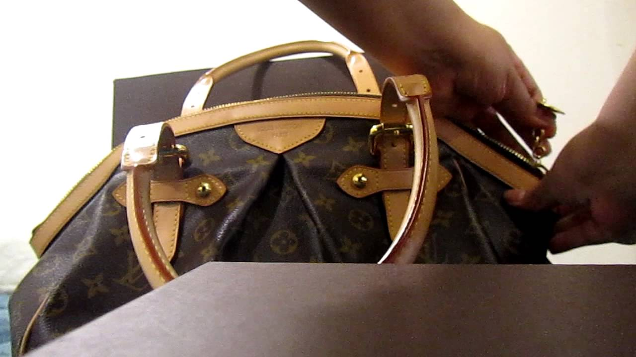 9dd8ffbee49 Louis Vuitton Tivoli GM Review - YouTube