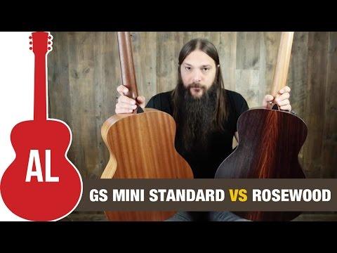 Taylor GS Mini Standard vs Rosewood GS Mini