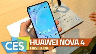 Huawei Nova 4 First Look | 48-Megapixel Rear Camera, Display Hole, and More