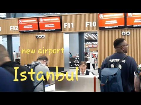 Новый аэропорт Стамбула (Ist). Как зарегистрироваться на рейс. Прощай Стамбул