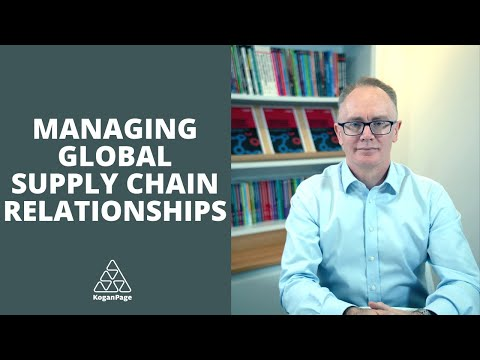 Managing Global Supply Chain Relationships for Competitive Advantage | Patrick Daly