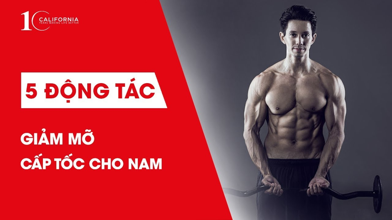 Workout #30 | 5 động tác giảm mỡ toàn thân cấp tốc cho nam | CFYC