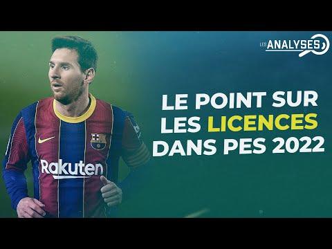 PES 2022 : Le point complet sur les licences (clubs, partenaires et compétitions)