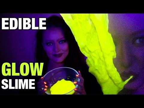 How To Make Edible Glow In The Dark Uv Slime