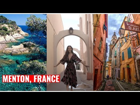 EXPLORING FRANCE | Menton and the French Riviera!