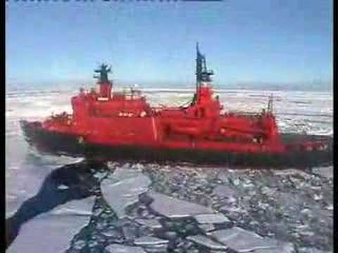 North Pole holiday expedition on the Nuclear Icebreaker Yamal