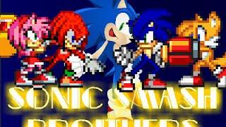 Sonic Smash Brothers Gameplay
